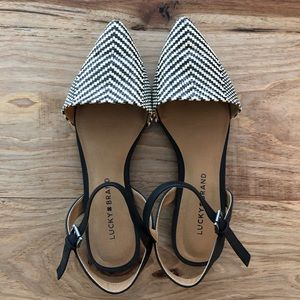 Lucky Brand Flats with strap